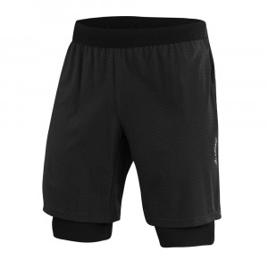 Löffler 2in1 Shorts Aero CSSL - black