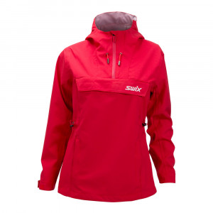 Swix Blizzard Anorak Women - swix red