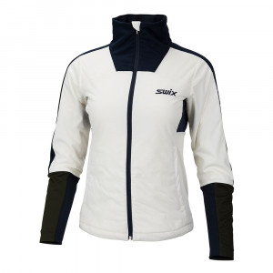 Swix Blizzard XC Jacket Women - snow white