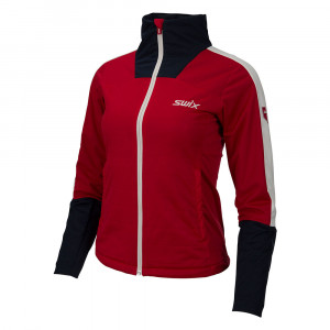 Swix Blizzard XC Jacket Women - swix red