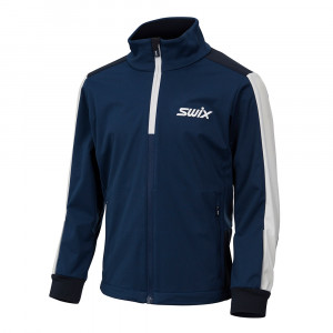 Swix Cross Jacket Junior - estate blue