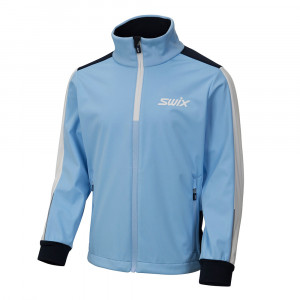 Swix Cross Jacket Junior - blue bell