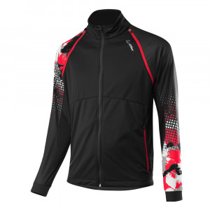 Löffler Worldcup Ws Light Zip-Off Jacket - black/red