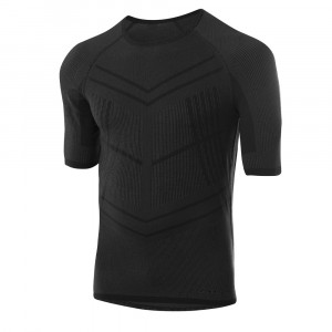 Löffler Warm Hybrid Transtex T-Shirt - black