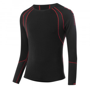 Löffler Airvent Transtex Light Shirt - black/red