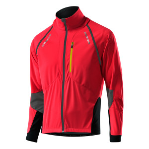 Löffler Bike Zip-Off Jacket San Remo WS Softshell - red