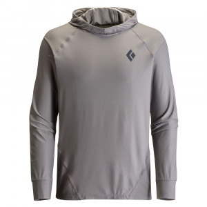 Black Diamond Alpenglow Sun Hoody - nickel
