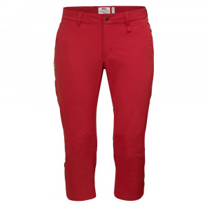 Fjällräven Abisko Capri Trousers Women - red