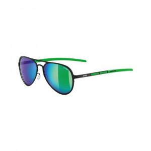Uvex LGL 30 Pola - black-green/litemirror green N4AGb6