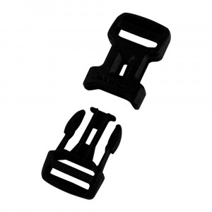 Mammut Dual Adjust Side Squeeze Buckle - 15 mm black