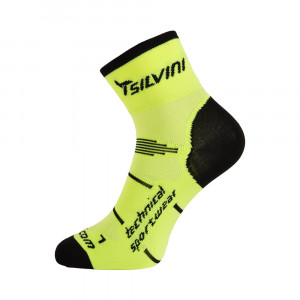 Silvini Orato Cycling Socks - neon