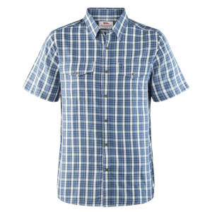 Fjällräven Abisko Cool Shirt SS - uncle blue