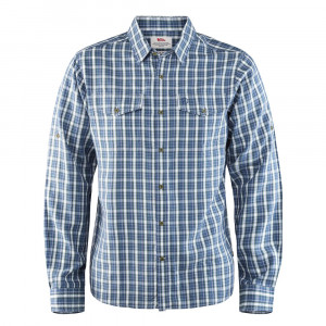 Fjällräven Abisko Cool Shirt LS - uncle blue