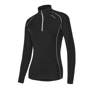 Löffler Transtex Merino Pullover Women - black