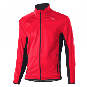 Löffler Alpha Softshell Jacket Light - red