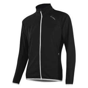 Löffler Alpha Softshell Jacket Light Women  - black