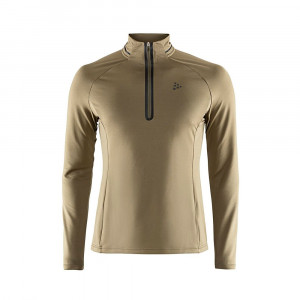 Craft Prep Halfzip Shirt - dark olive