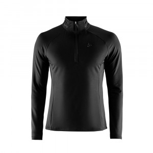 Craft Prep Halfzip Shirt - black